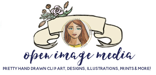 Open Image Media - Hand crafted Clip art, Illustrations, Graphics